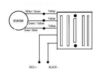 Three Phase fitting instructions | Sparx Wiring Diagram For Lights |  | Motorcyclebits.co.uk